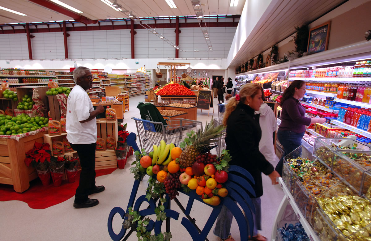 RAF Alconbury Commissary, image courtesy of Tech. Sgt. John Barton