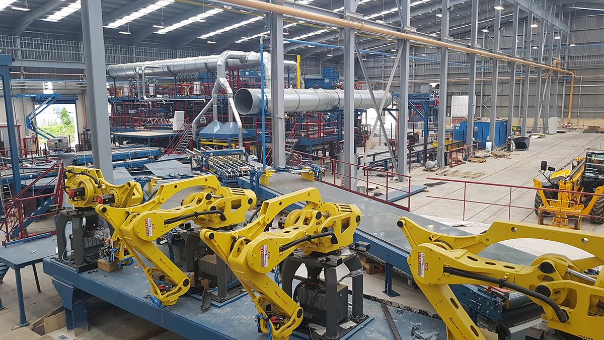 Inside the Ibstock Eclipse Factory